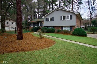 Marietta Single Family Home New: 687 Monticello Way