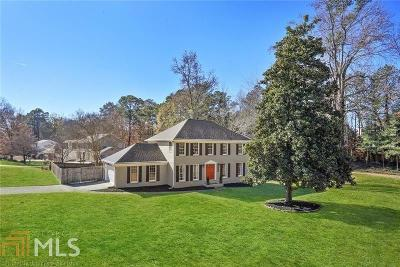 Marietta Single Family Home Under Contract: 2870 Prince Howard Dr