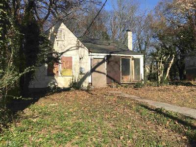 Fulton County Single Family Home New: 182 Rhodesia Avenue SE
