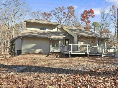 Peachtree City GA Single Family Home Under Contract: $487,900