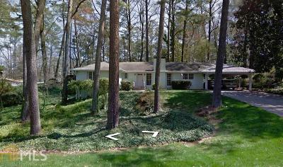 Sandy Springs Single Family Home New: 6925 Castleton Dr