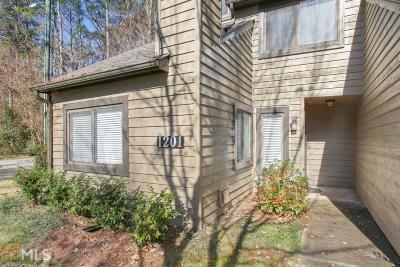 Fulton County Condo/Townhouse New: 1201 Cedar Chase Dr