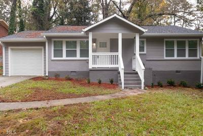 Fulton County Single Family Home New: 2617 Ivydale Dr SW