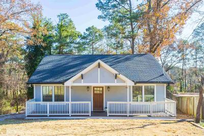 Atlanta Single Family Home New: 1744 Fairway Hill
