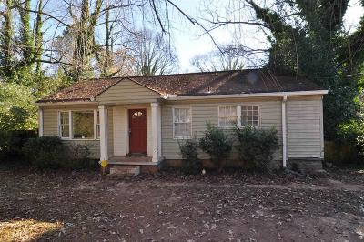 Decatur Single Family Home Under Contract: 3427 Jackson Dr