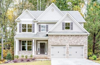 Powder Springs Single Family Home For Sale: 4936 Crider Creek Dr