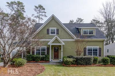 Brookhaven Single Family Home Under Contract: 3007 Surrey Ln