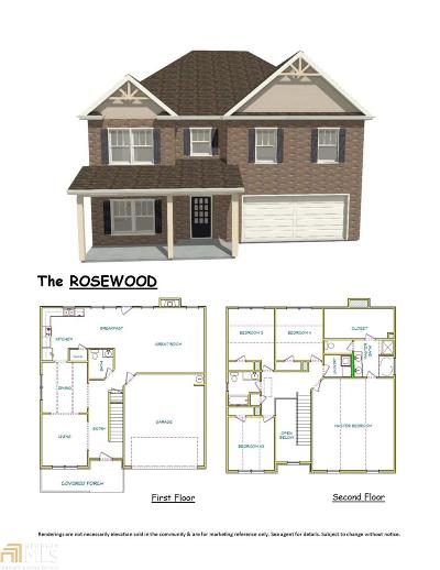 McDonough Single Family Home New: 1585 Elliott Rd #Lot 1