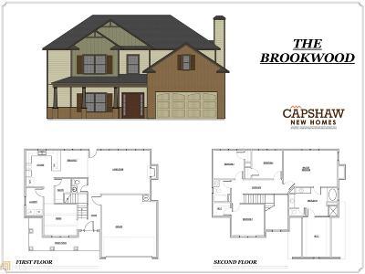 McDonough Single Family Home New: 1603 Elliott Rd #Lot 2