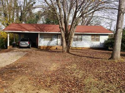 Griffin Single Family Home New: 1789 W McIntosh Rd