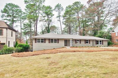 Decatur Single Family Home New: 1694 Montcliff Ct