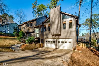 Kennesaw GA Single Family Home Under Contract: $185,000