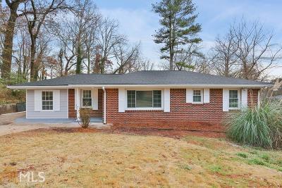Atlanta Single Family Home New: 1773 Flintwood Dr
