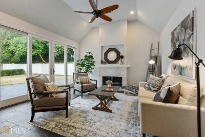 Atlanta Single Family Home New: 4291 Wieuca Rd