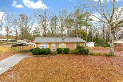 Conyers Single Family Home New: 592 Mt Zion Rd