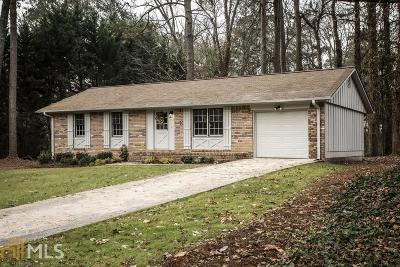 Marietta Single Family Home New: 2766 Tiffany Dr