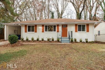 Atlanta Single Family Home New: 1843 Tiger Flowers Dr