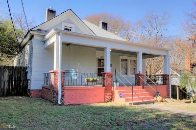 Atlanta Single Family Home New: 1405 Everhart St