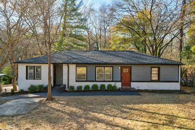 Atlanta Single Family Home New: 2877 Diana Dr