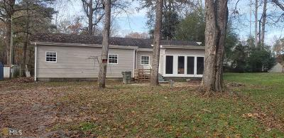 Conyers Single Family Home New: 2600 Pineridge Dr