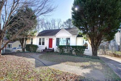 Atlanta Single Family Home New: 1683 May Ave