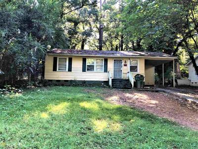 Atlanta Single Family Home New: 3060 SW Waters Rd