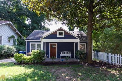 Atlanta Single Family Home New: 970 SW Westmont Road SW