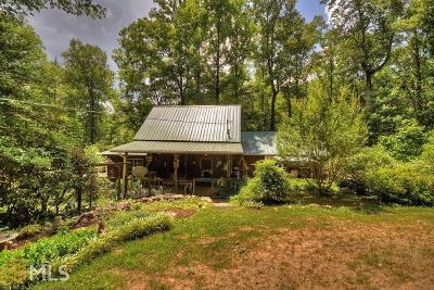 Ellijay Single Family Home Under Contract: 2452 Big Bend Rd