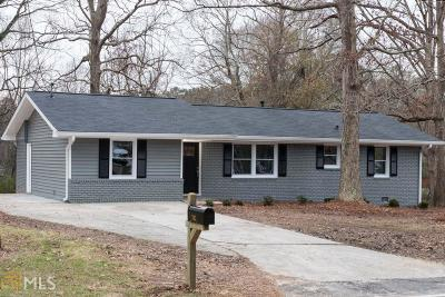 Mableton Single Family Home New: 703 Boggs Rd
