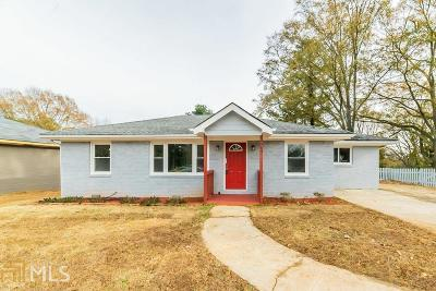 Decatur Single Family Home New: 2485 Tilson Road