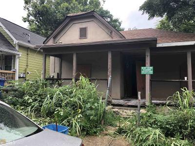 Atlanta Single Family Home New: 571 Rockwell