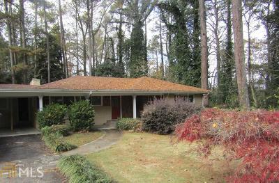 Atlanta Single Family Home New: 1970 Briarmill Rd