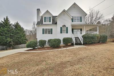 Douglasville Single Family Home Under Contract: 224 Riverbend Trl