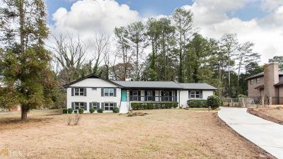 Atlanta Single Family Home New: 1300 Melbenan Drive