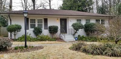 Atlanta Single Family Home New: 1386 Wessyngton Rd