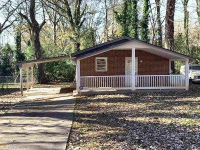 Atlanta Single Family Home New: 2917 Reveille Circle SE