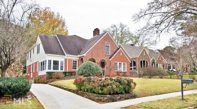 Atlanta Single Family Home New: 1681 Noble Drive NE