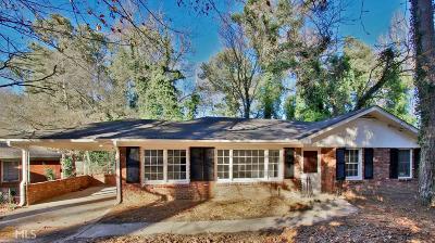 Atlanta Single Family Home New: 1884 Windsor Dr