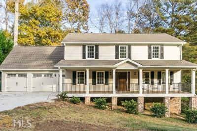 Marietta Single Family Home New: 3543 Clubland Dr