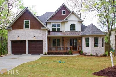 Roswell Single Family Home New: 250 Windflower Trace