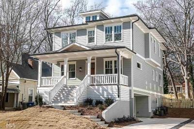 Atlanta Single Family Home New: 252 Rockyford Rd
