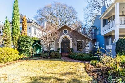 Atlanta Single Family Home New: 70 E Park Lane NE #B