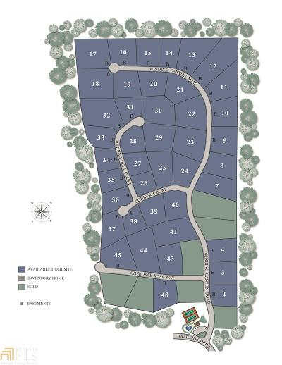 Flowery Branch Residential Lots & Land For Sale: 6824 Cherokee Rose Way #45