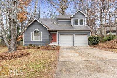 Acworth Single Family Home New: 4550 Hickory Forest Dr