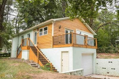 Atlanta Single Family Home New: 1251 Westmont Rd