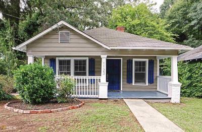 Atlanta Single Family Home New: 1123 SW Astor Ave