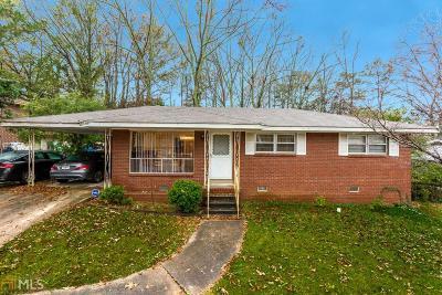 Atlanta Single Family Home New: 1240 Stoneham