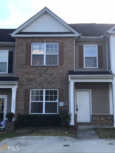 Atlanta Condo/Townhouse New: 2247 Bigwood Trl