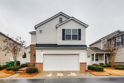 Woodstock Single Family Home New: 217 Hiawassee Dr