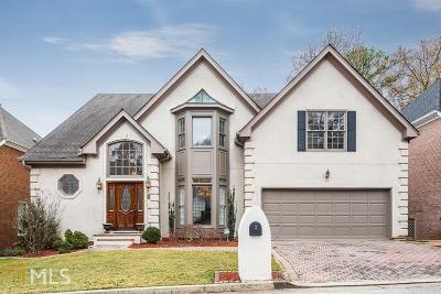 Atlanta Single Family Home For Sale: 195 Grosvenor Pl